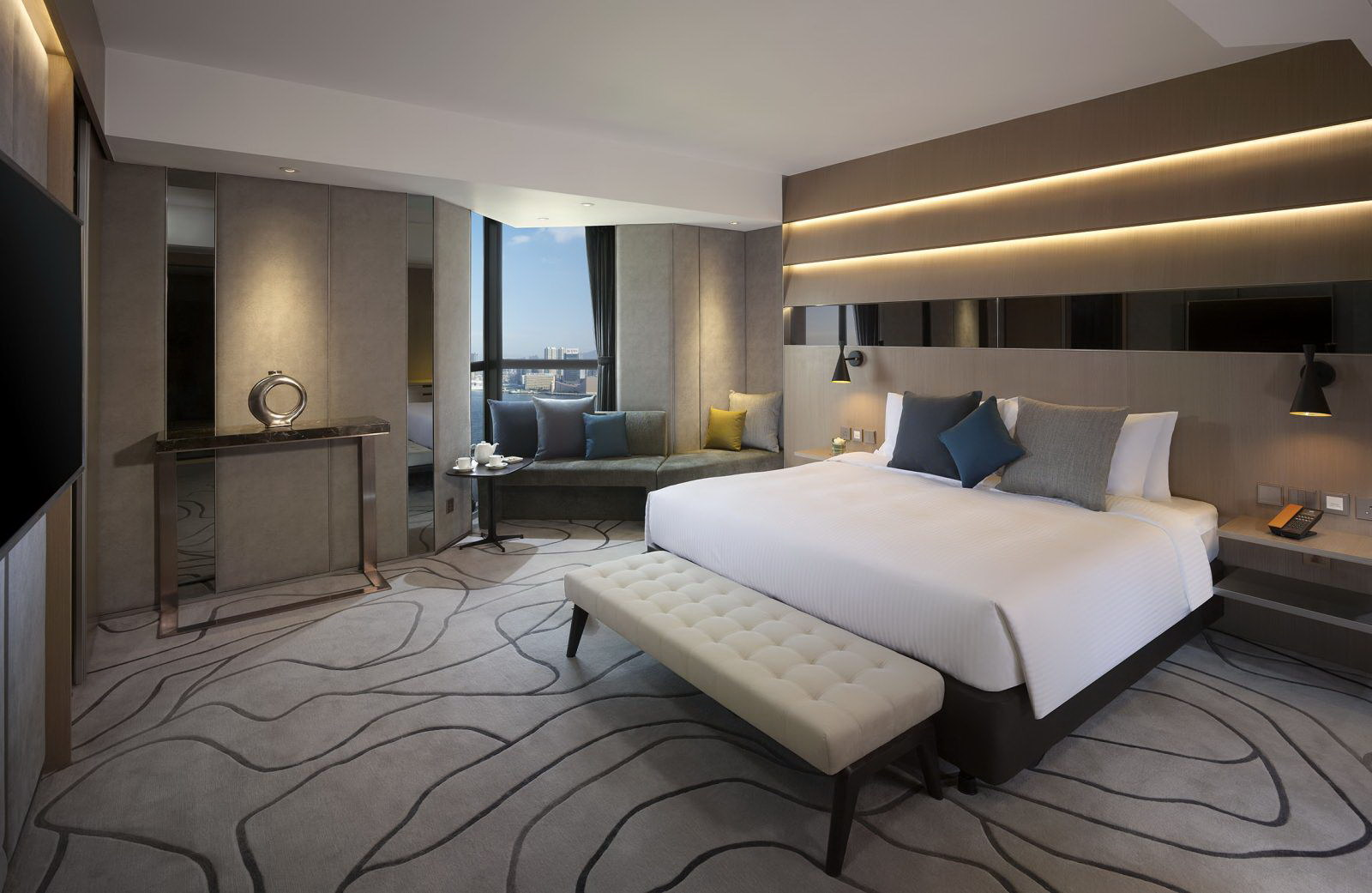 The Optimum Floor Executive Deluxe Room